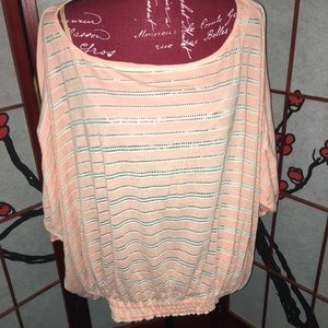 Free people batwing knit top